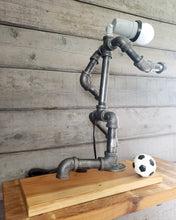 Load image into Gallery viewer, Soccer Player Pipe Lamp