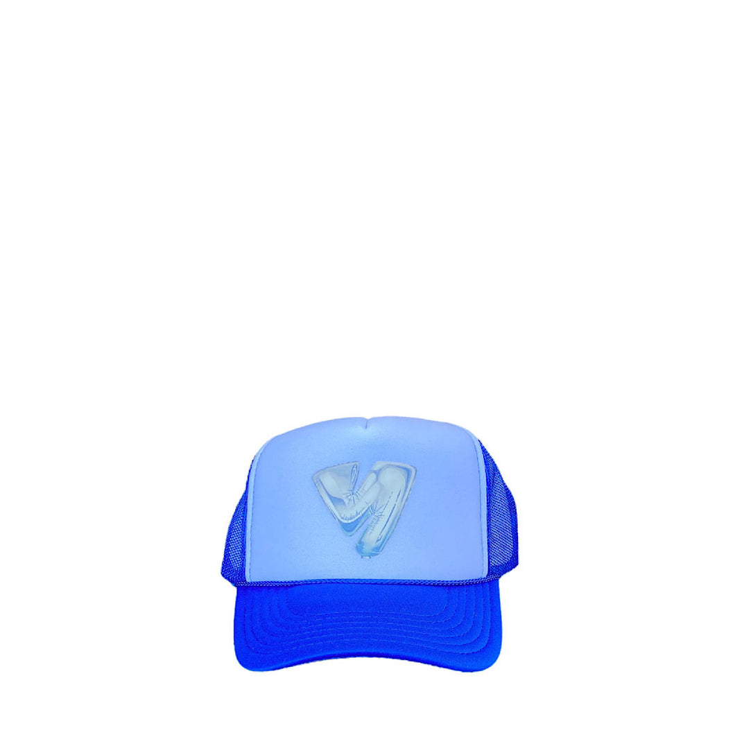 Versus Blue Trucker Hat