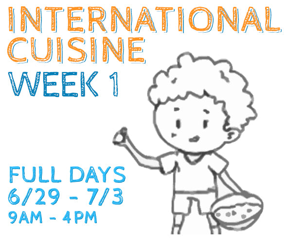 Week 1 - International Cuisine (K/FD)