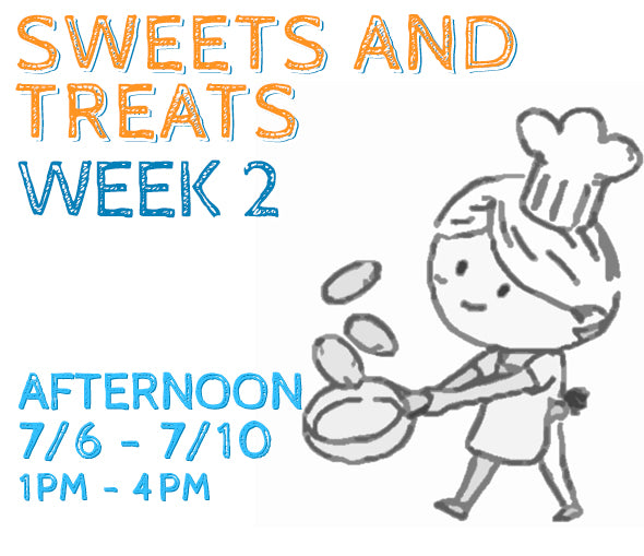 Week 2 - Sweets & Treats (K/PM)
