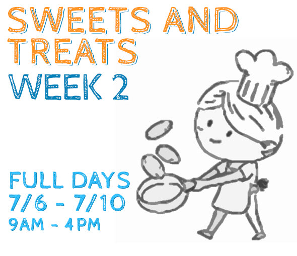 Week 2 - Sweets & Treats (K/FD)