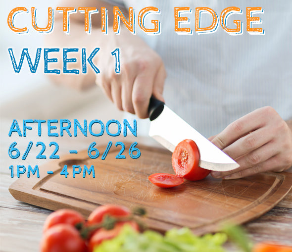 Week 1 - Cutting Edge (T/PM)