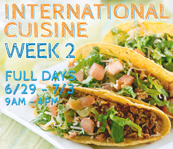 Week 2 - International Cuisine (T/FD)
