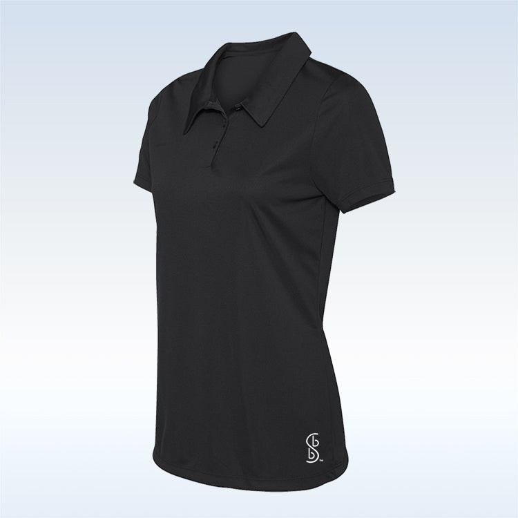 Bella Bella Sports Black Button Polo