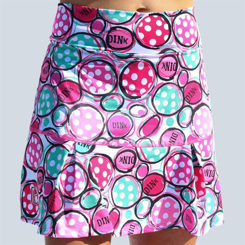 PICKLEBALL  DINK 2 DROP-PLEAT SKORT