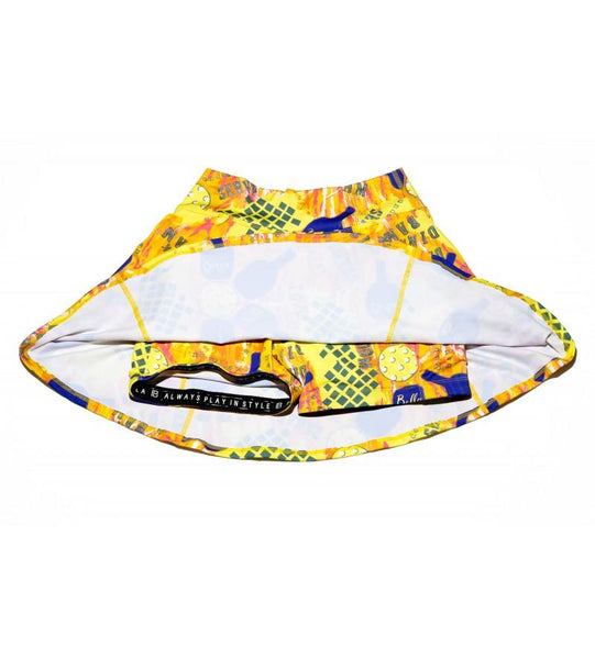 PICKLEBALL GRAFFITI 1 A-LINE SKORT