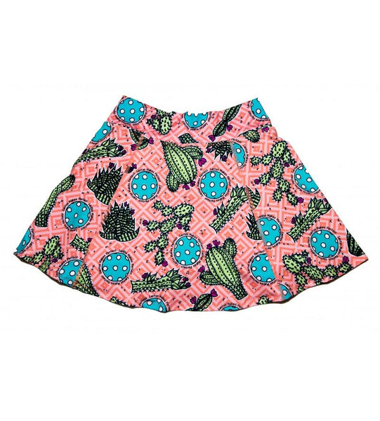 CACTUS MAKES PERFECT 1 A-LINE SKORT