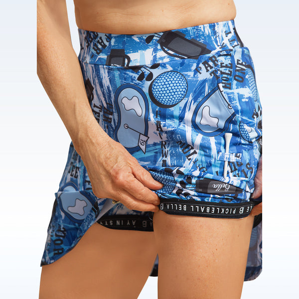 Golf Bella Graffiti 2 Straight Skort