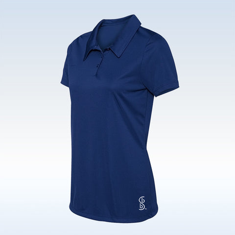 Bella Bella Sports Navy Blue Button Polo