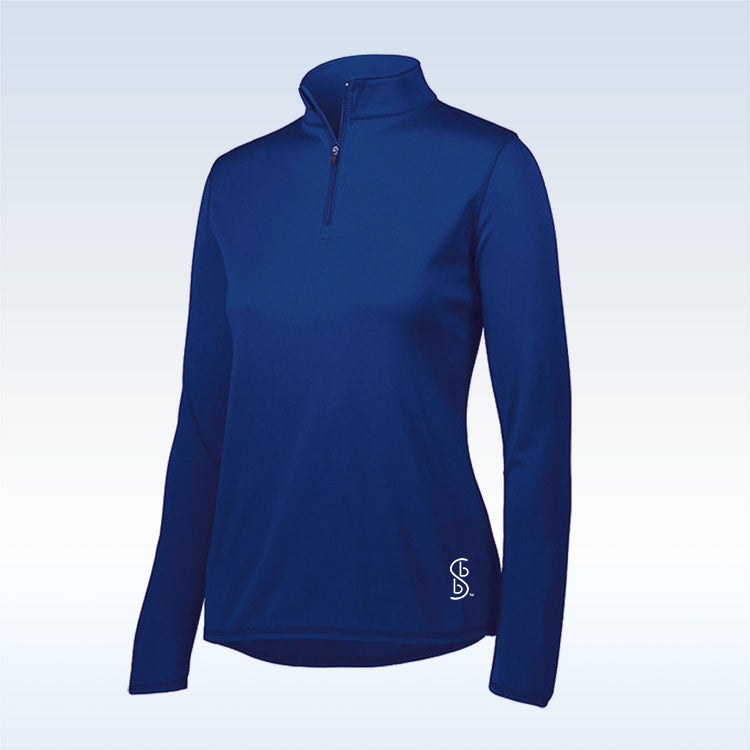 Bella Bella Sports Navy Blue 1/4 Zip Pullover