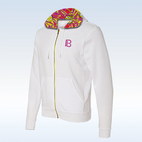 Pickleball Bella Angle Shot Full-Zip Hoodie