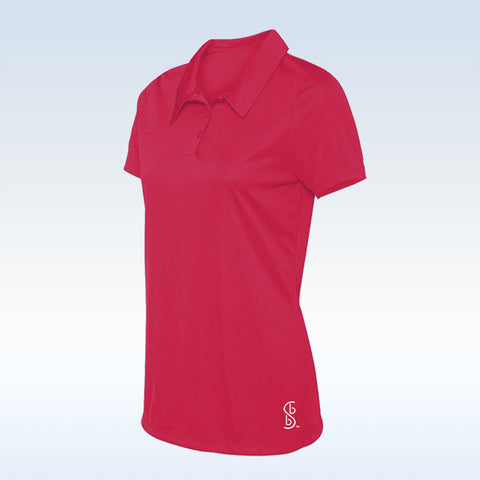 Bella Bella Sports Pink Button Polo