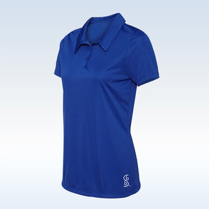 Bella Bella Sports Royal Blue Button Polo