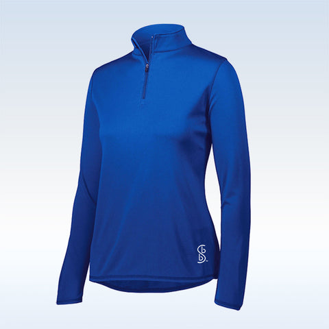 Bella Bella Sports Royal Blue 1/4 Zip Pullover