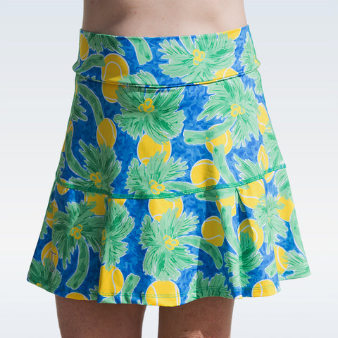 Tennis Bella Palms 1 Kick-pleat Skort