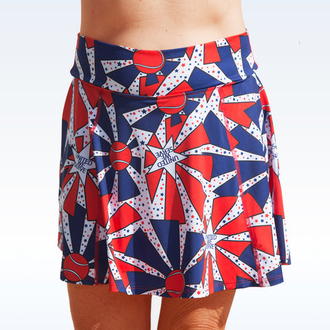 Tennis Bella United We Serve A-line Skort