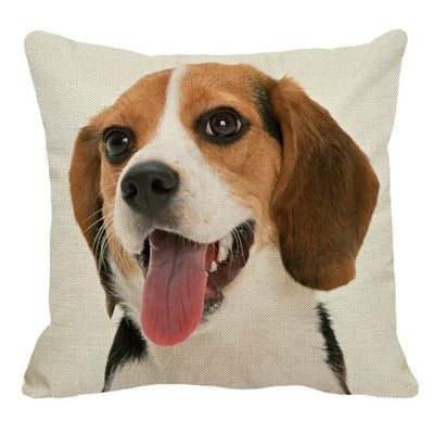 Cute Pet Beagle Pillow