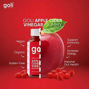 Goli Gummies 2 Pack - Apple Cider Vinegar Gummies - Gummies Of Life