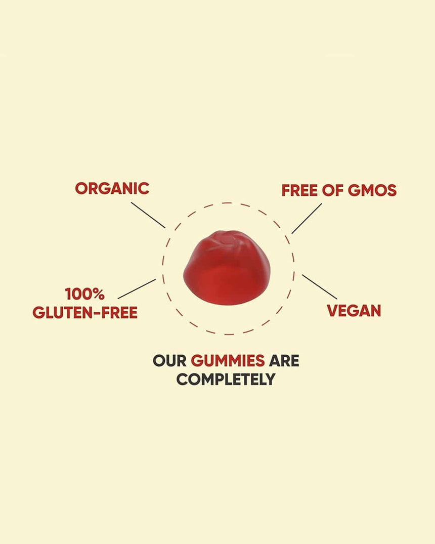 Goli Gummies - Apple Cider Vinegar Gummies 60 CT - Gummies Of Life