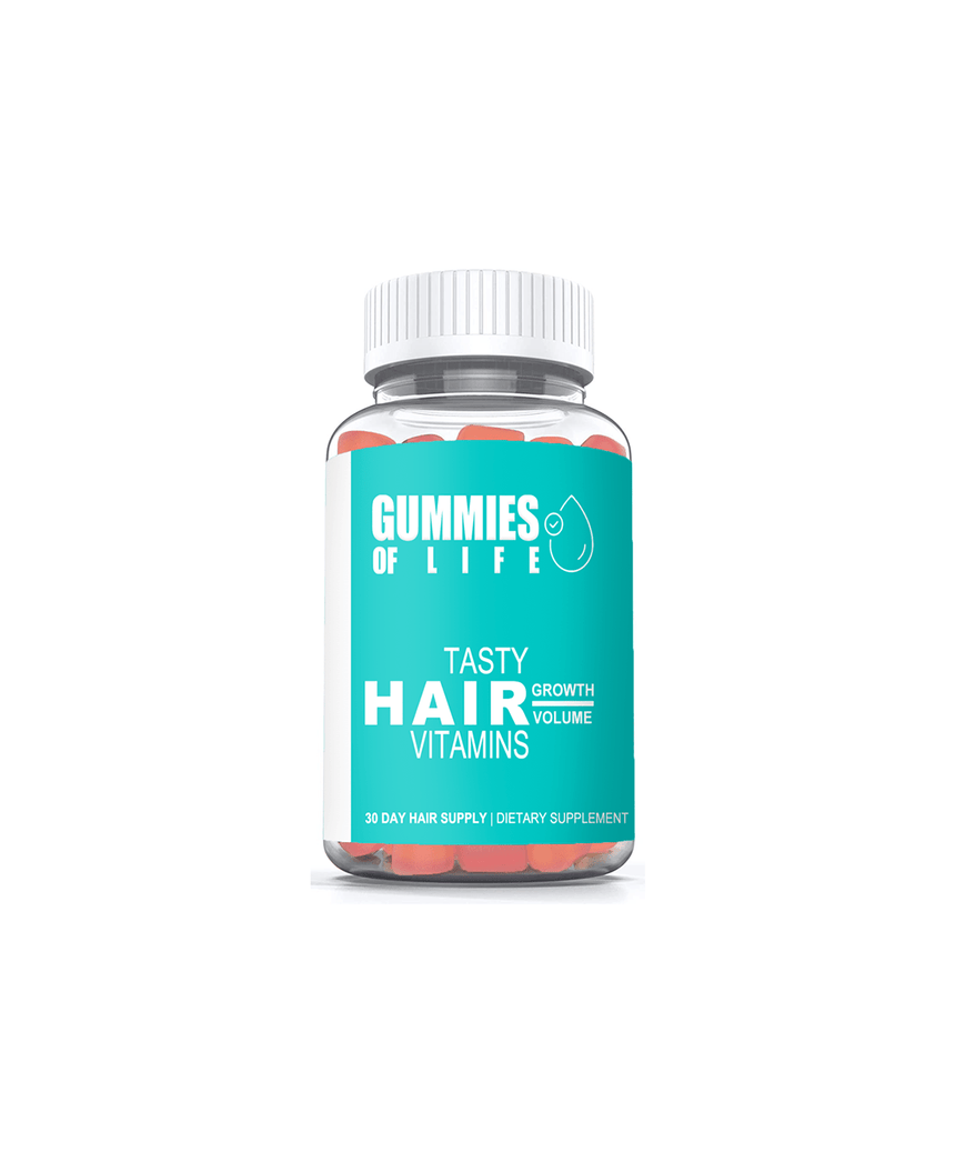 Gummies Of Life: Gummy Bear Hair Vitamins - 30 Day Supply (Growth & Volume) - Gummies Of Life