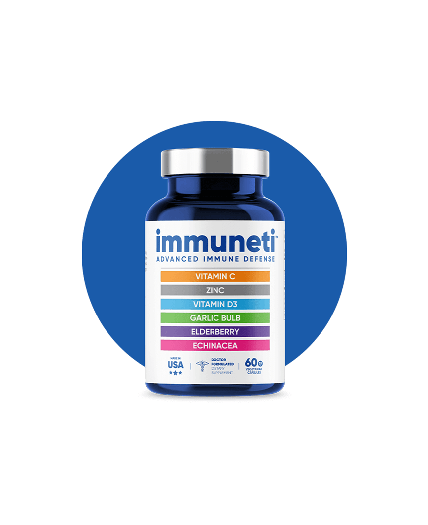 Immuneti 1 Bottle - Advanced Immune Defense 60 Capsules
