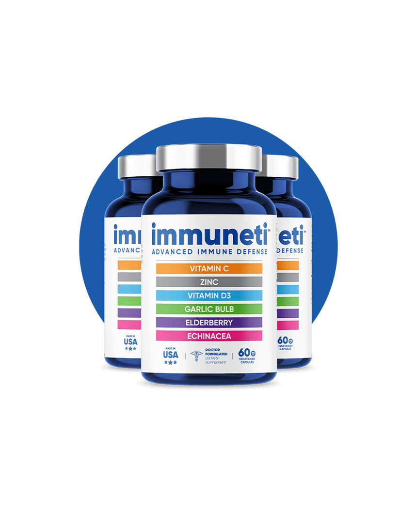 Immuneti 3 Pack - Advanced Immune Defense 180 Capsules