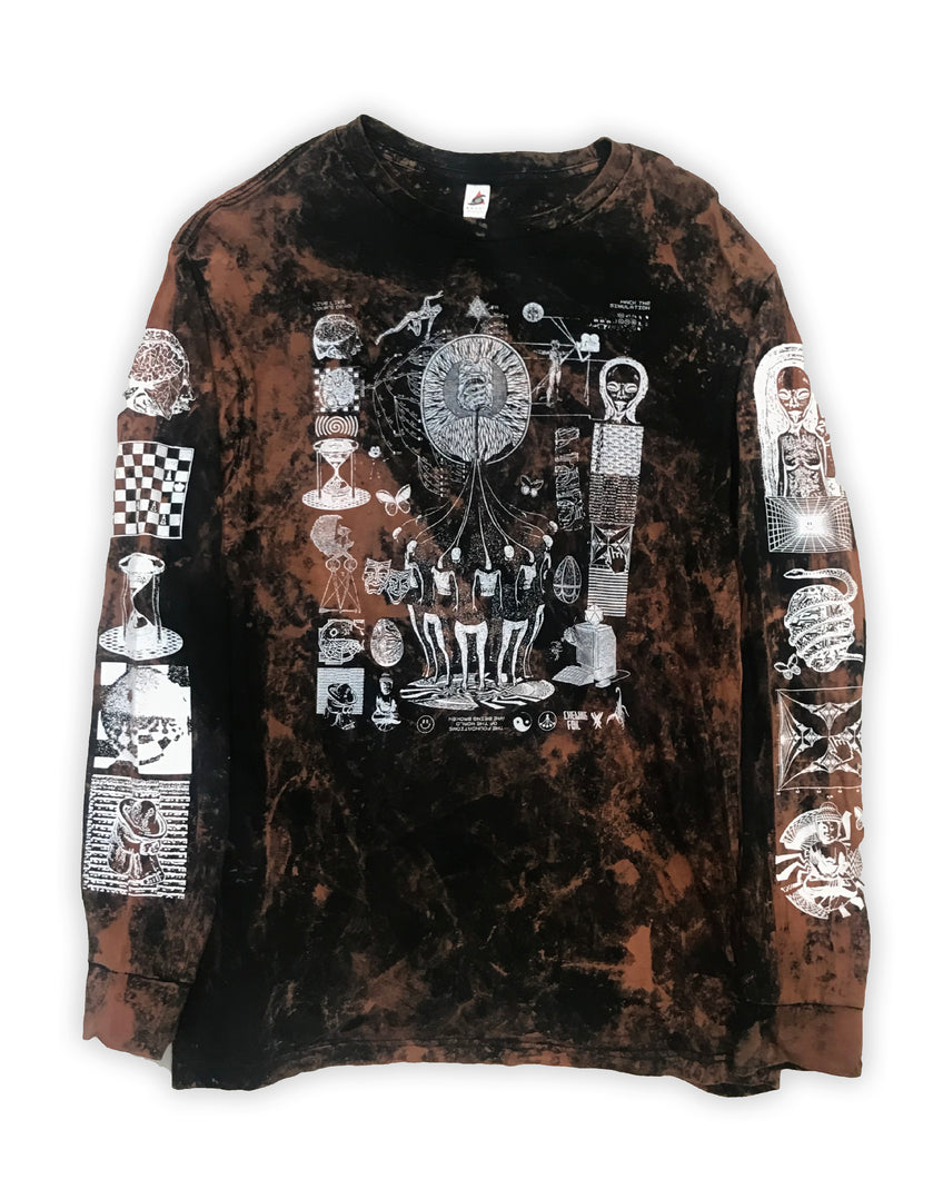 ACIDWASH Hack the Simulation Longsleeve T-Shirt