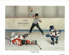 """Tripped Up"" John Newby Print"