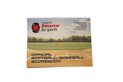 Official Softball/Baseball Scorebook