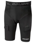 Bauer Men's Compression Premium Jock Shorts