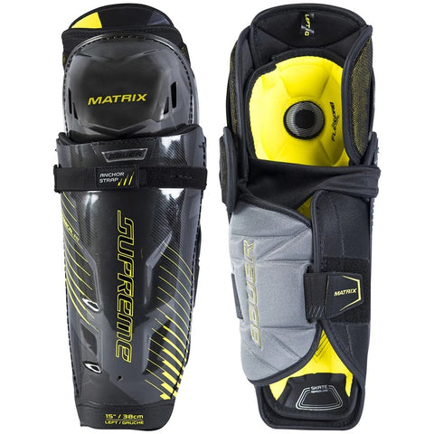 Bauer Junior Supreme Matrix Hockey Shin Pads