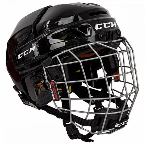 CCM Youth Fitlite 3DS Hockey Helmet Combo