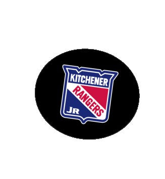 Inglasco Kitchener Jr Rangers Hockey Puck