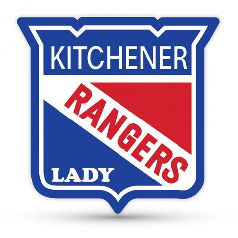 Lady Rangers Car Decal
