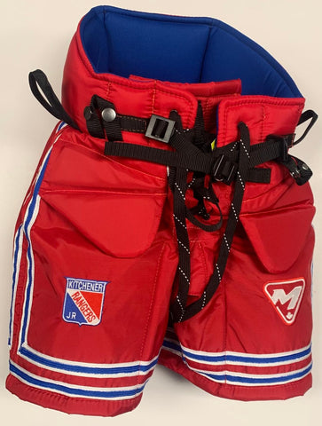 Mckenney Youth Jr Rangers Goalie Pants