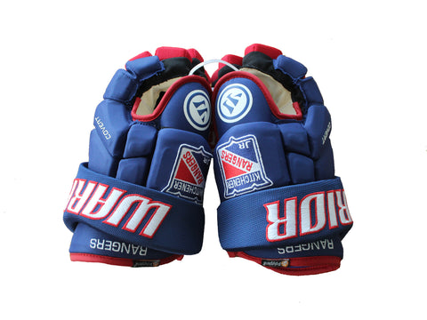 Warrior Senior Kitchener Jr Ranger Custom Hockey Gloves