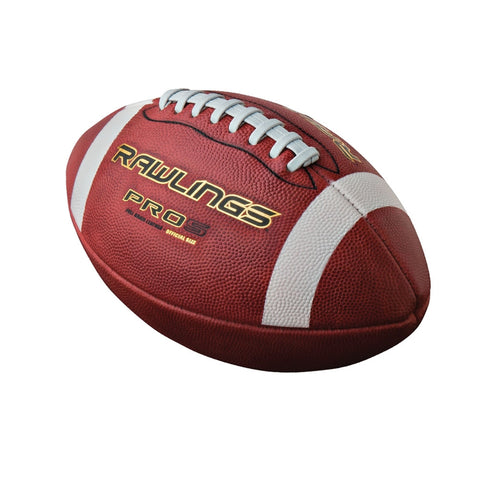 Rawlings Senior Pro5 Leather Football