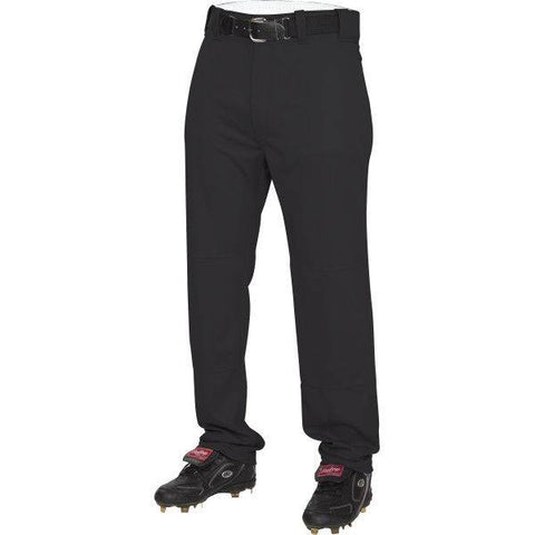 Rawlings Youth Semi-Relaxed Black Baseball Pants