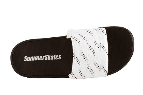Summer Skates Sandals (White-Black)