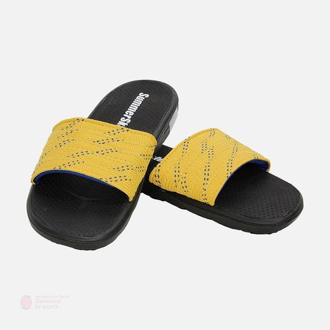 Summer Skates Senior Sandals (Yellow-Blue)