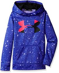Under Armour Girls Big Logo Hoody