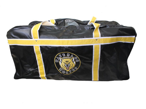Waterloo Wolves Senior Hockey Bag