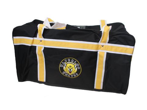 Waterloo Wolves Hockey Bag