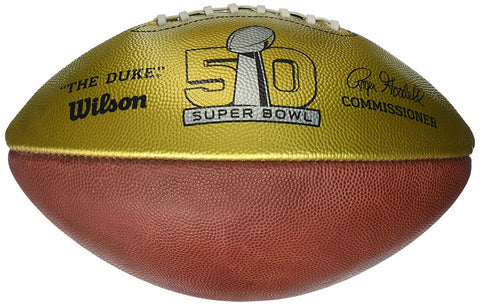 Wilson Golden Anniversary Super Bowl 50 Commemorative Football