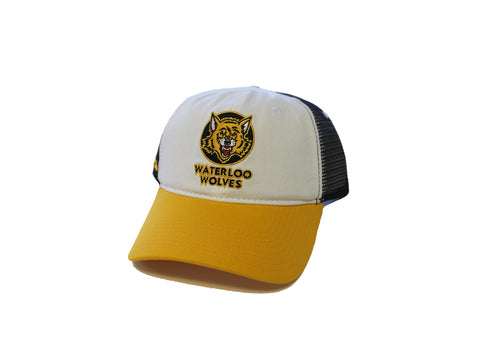 Waterloo Wolves Mesh Back Ball Cap