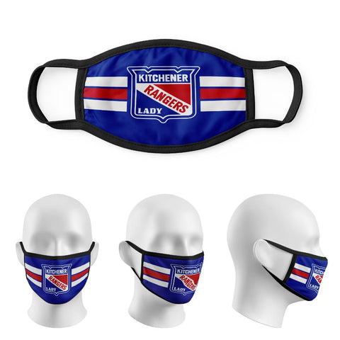 Custom Lady Rangers  Sublimated Masks-Coming Soon