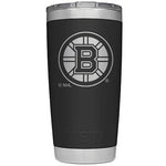 Yeti 20 oz. Rambler Tumbler with NHL Logos Bruins