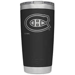Yeti 20 oz. Rambler Tumbler with NHL Logos Canadiens