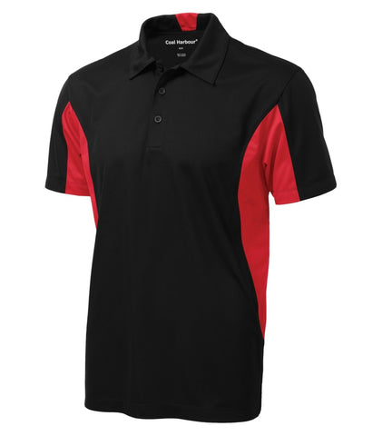 Sanmar S4001 Sr. Colour Block Golf Shirt