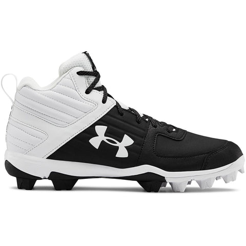 Under Armour Leadoff Mid RM Junior Baseball Shoe